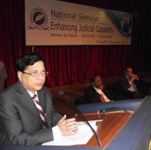 Justice Dipak Mishra- Sitting SCI Complains AGAINST WORKING of Indian Justice & Judgment Modus Operandi-National Seminar